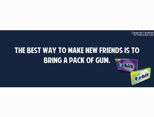 Pack Of Gum Cover