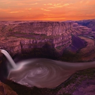 Palouse Falls Washington Usa Wallpapers