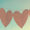 Download paper hearts cover, paper hearts cover  Wallpaper download for Desktop, PC, Laptop. paper hearts cover HD Wallpapers, High Definition Quality Wallpapers of paper hearts cover.
