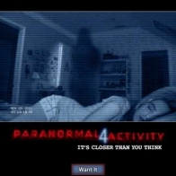 Paranormal Activity 4 2012 Poster Wallpapers