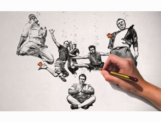 Pencil Art Hd Wallpaper 40