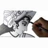 Pencil Art Hd Wallpaper 48