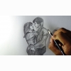 Pencil Art Hd Wallpaper 65