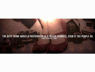 Photograph Never Changes Cover