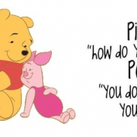 Pooh Bear Quote Cover