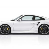 Porsche Techart Design White 2 Hd Wallpapers