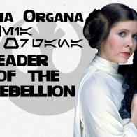 Profile Leia Organa Wallpaper