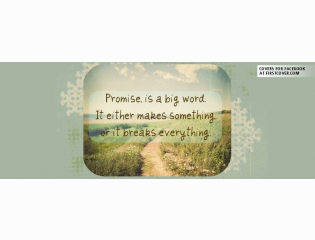 Promise Quote Cover