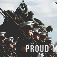 Proud Marine Wife Cover