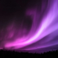 Purple Aurora Borealis Wallpapers