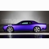 Purple Dodge Challenger Car Wallpaper