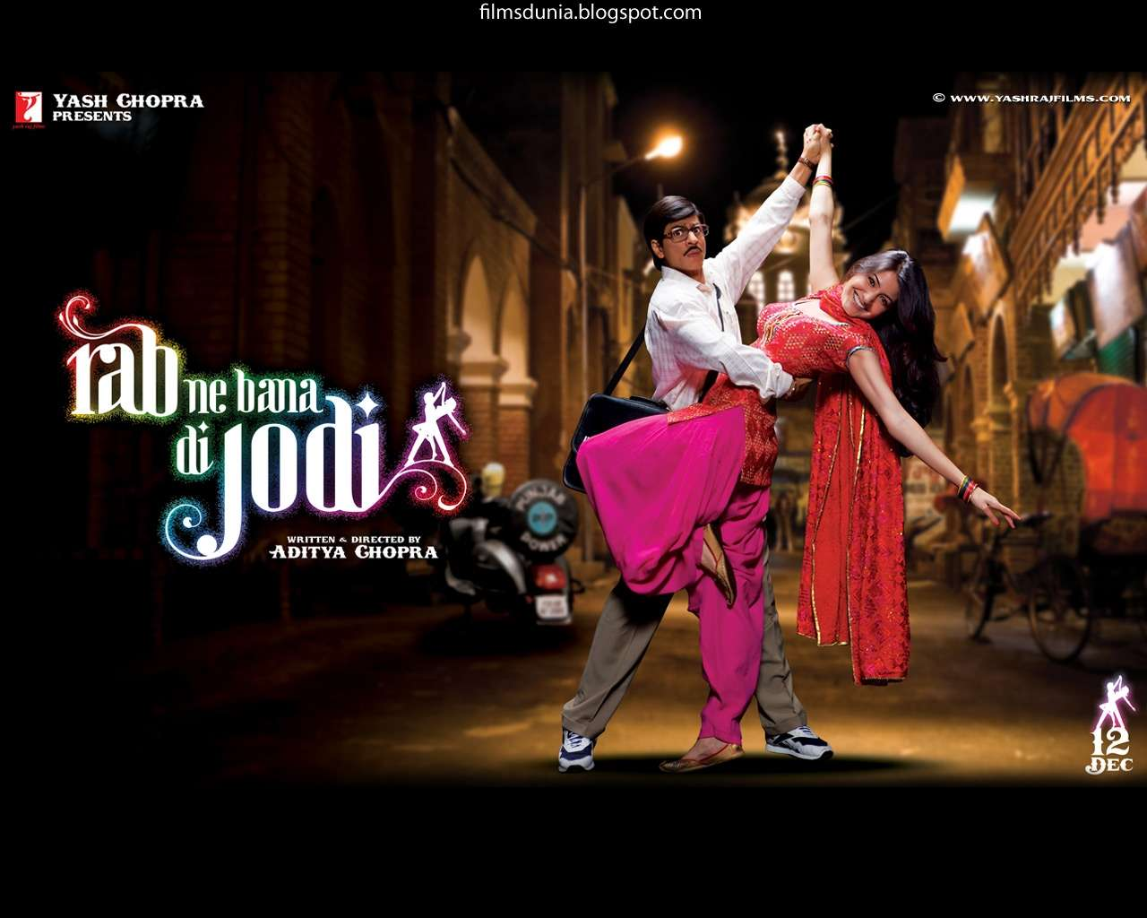 Wallpaper Love Jodi : Rab Ne Bana Di Jodi Wallpaper : Hd Wallpapers