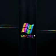 Rainbow Colored Windows 7 Wallpapers