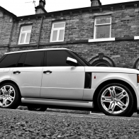 Range Rover Black And White Wallpaper