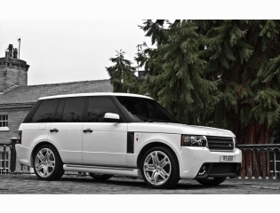 Range Rover White Wallpaper