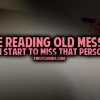 Download reading old messages cover, reading old messages cover  Wallpaper download for Desktop, PC, Laptop. reading old messages cover HD Wallpapers, High Definition Quality Wallpapers of reading old messages cover.