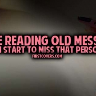 Reading Old Messages Cover