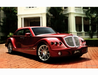Red Bufori Car Desktop Wallpaper
