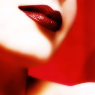 Reddish Lips Wallpapers