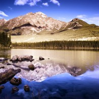 Reflective Mountains Wallpapers