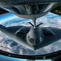Refueling B 2 Wallpaper