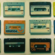 Retro Cassette Tapes Cover