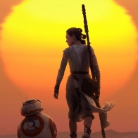 Rey Amp Bb 8 Star Wars The Force Awakens