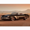 Roadster Black 62 Vette Wallpaper