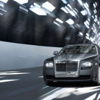 Rolls Royce Ghost On Road Hd Wallpapers
