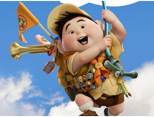 Russell Boy In Pixar 039 S Up Wallpapers