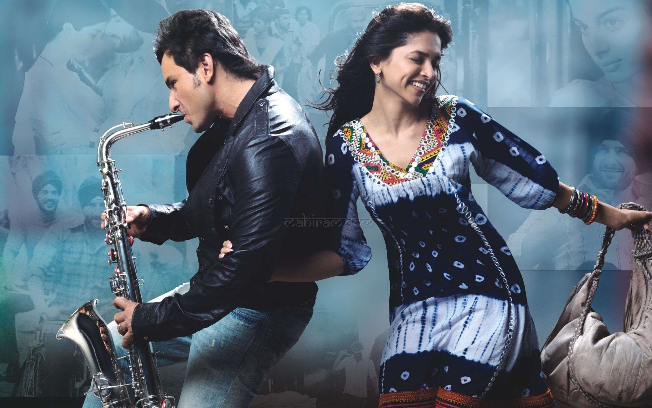 Saif Deepika In Love Aaj Kal Wallpapers : Hd Wallpapers