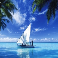 Sailing Over Indian Ocean