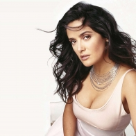Salma Hayek Beautiful  Hd Wallpaper