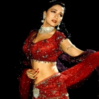 Sari Of Madhuri Wallpaper
