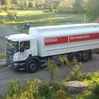 Scania P420 Esso Wallpaper