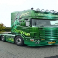 Scania V8 Wallpaper