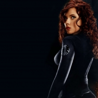 Scarlett Johansson As Black Widow In Iron Man 2 Wallpapers