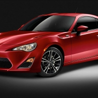 Scion Red Car Wallpaper