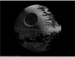 Second Death Star Wallpaper
