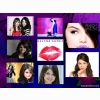 Selena Gomez Collage Wallpaper