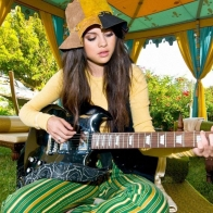 Selena Gomez Guitar Wallpapers