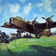 Short Stirling Wallpaper