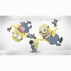 Shut Up And Love Minions Wallpaper