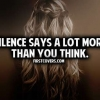 Download silence says a lot cover, silence says a lot cover  Wallpaper download for Desktop, PC, Laptop. silence says a lot cover HD Wallpapers, High Definition Quality Wallpapers of silence says a lot cover.
