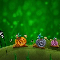 Snail Racing Wallpapers