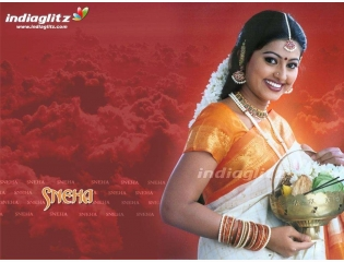 Sneha Tamil Actress Wallpaper