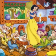 Snow White And The Seven Dwarfs Wallpaper