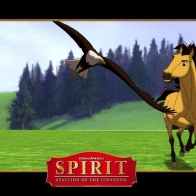 Spirit Stallion Of The Cimarron Wallpaper