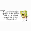 Spongebob Quote Cover