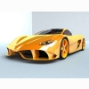 Sport Car Yellow Wallpaper